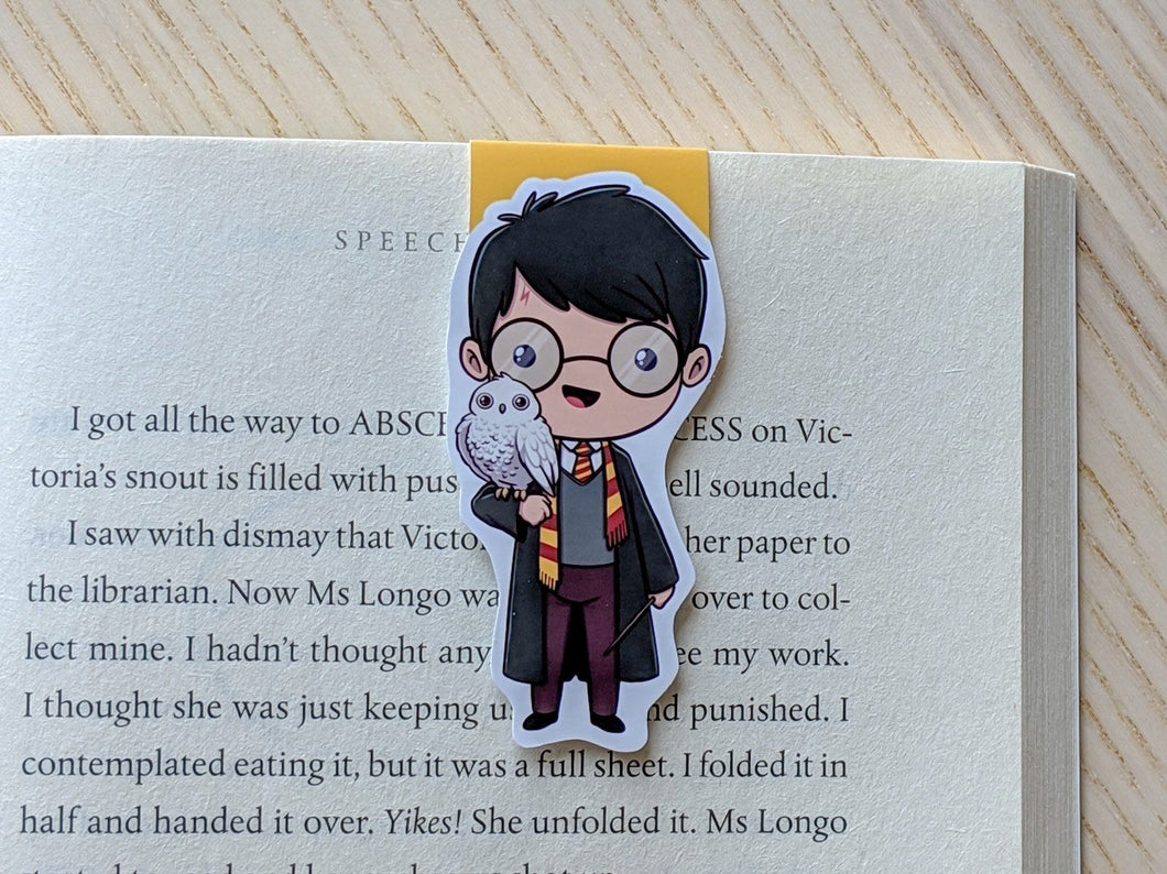Harry Potter Magnetic Bookmark 2.0