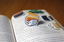Load image into Gallery viewer, Japanese Foods Magnetic Bookmarks (Set of 5)