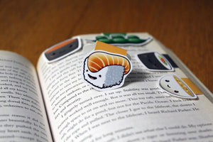 Japanese Foods Magnetic Bookmarks (Set of 5)