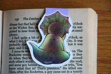 Load image into Gallery viewer, Baby Triceratops Magnetic Bookmark
