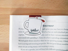 Load image into Gallery viewer, Cute Cup of Coffee Magnetic Bookmark