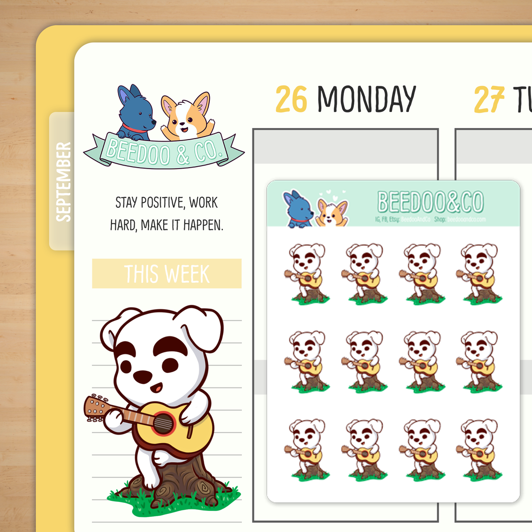 Animal Crossing Planner Stickers