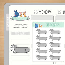 Load image into Gallery viewer, Long Dog Planner Stickers