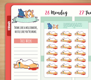 That Time of Month Planner Stickers