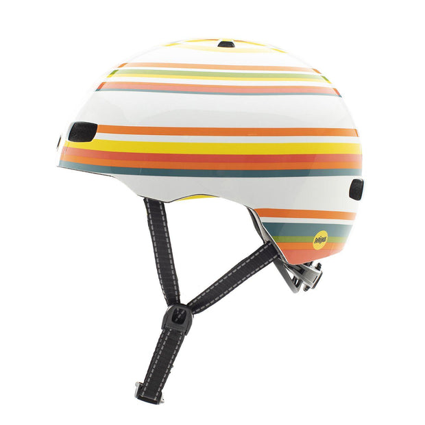 Nutcase Street Beach Life Gloss MIPS helm Medium zijkant