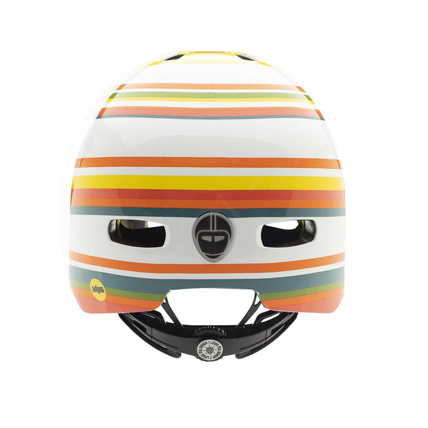 Nutcase Street Beach Life Gloss MIPS helm Medium achterzijde