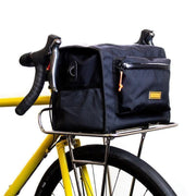 Commuter front rack chroom large met tas