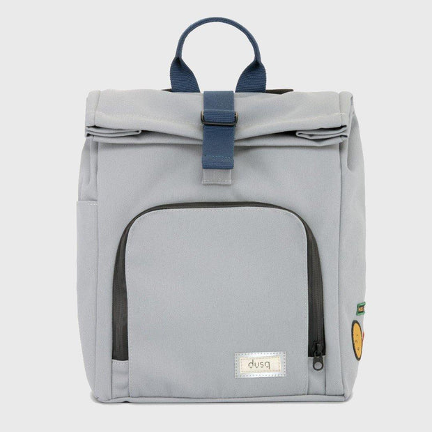 Dusq kinder rugzak canvas grey