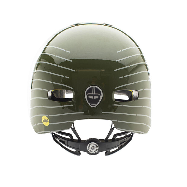Nutcase Street Dust for Prints Reflective Mips helm Small achterzijde