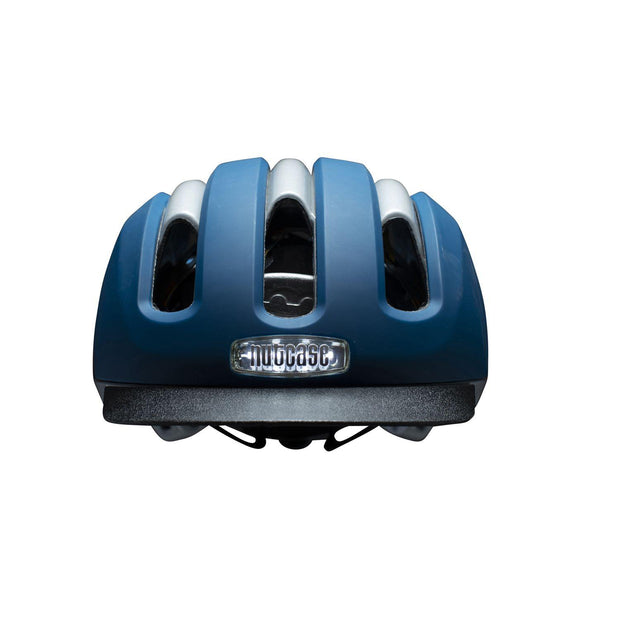 Nutcase VIO Navy Matte Mips light helm L/XL voorzijde