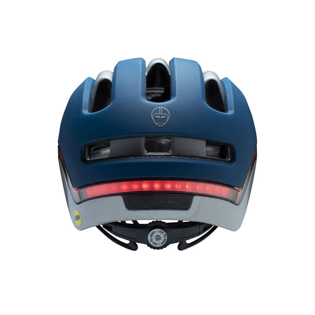 Nutcase VIO Navy Matte Mips light helm L/XL achterzijde