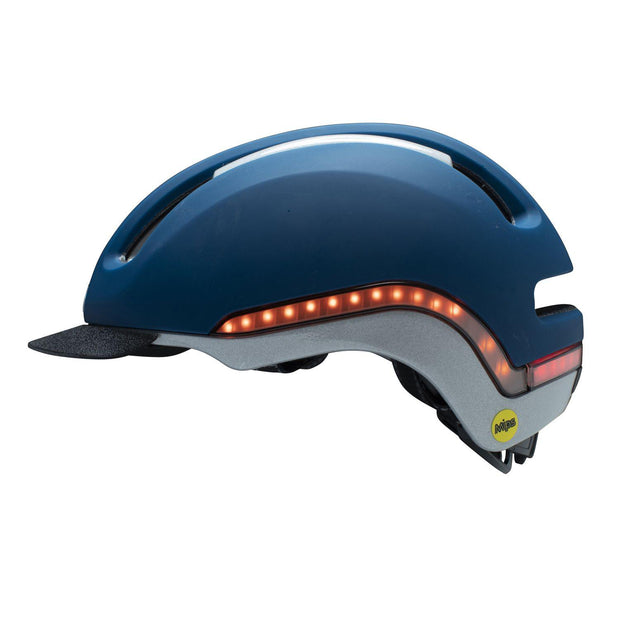 Nutcase VIO Navy Matte Mips light helm L/XL zijkant