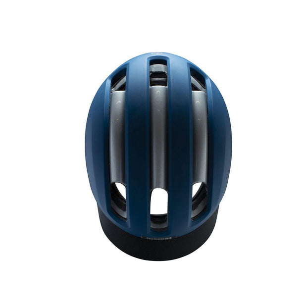 Nutcase VIO Navy Matte Mips light helm L/XL bovenaanzicht