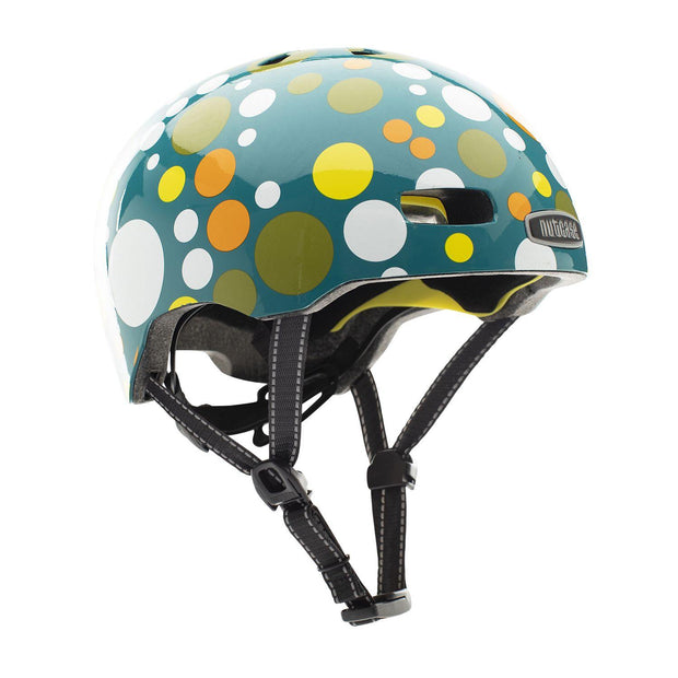 Nutcase Street Polka Face Gloss MIPS helm Small