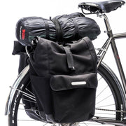 Commuter rear rack chroom bepakt