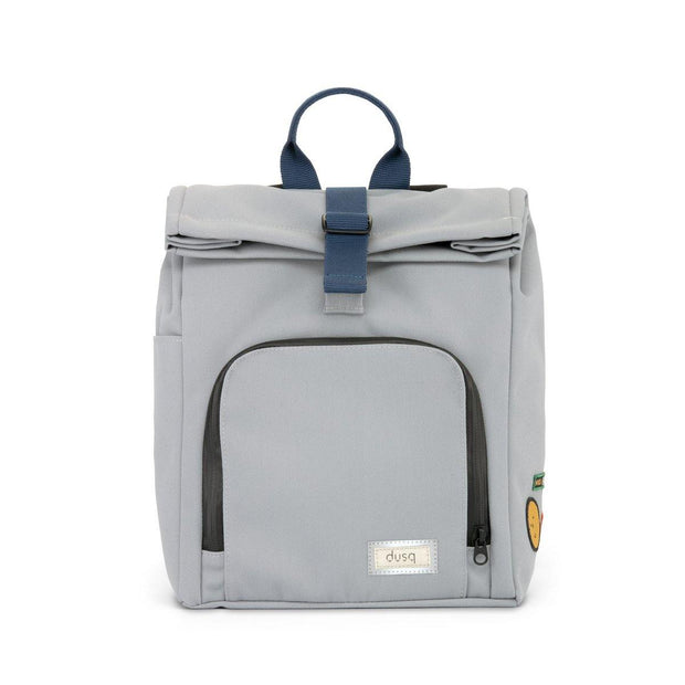 Dusq kinder rugzak canvas cloud grey