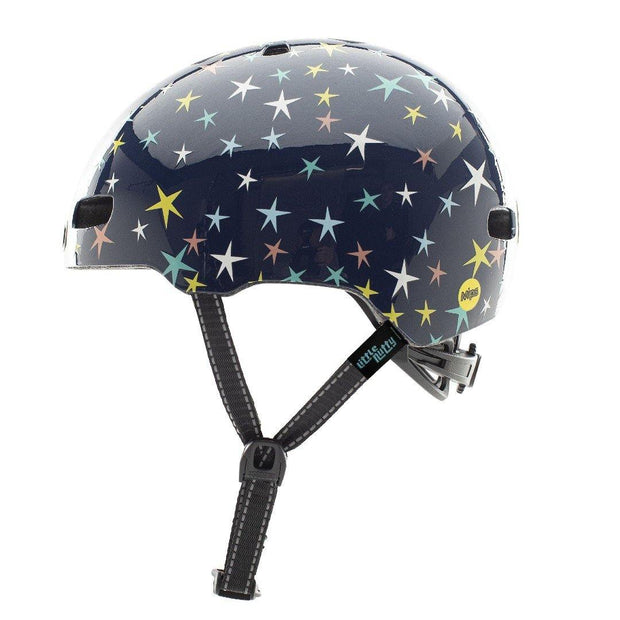 Nutcase Little Nutty Stars are Born Gloss MIPS Helm Small zijkant