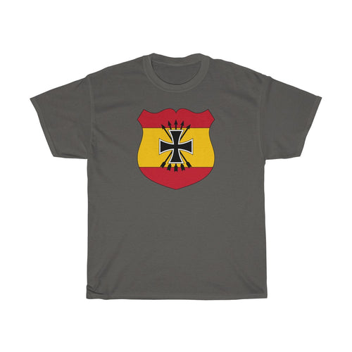 Spanish Blue Division German World War II | Heavy Cotton Tee | Axis & Allies | Dean's Army Guys