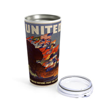 Load image into Gallery viewer, Axis and Allies United Tumbler, 20oz | Dean's Army Guys