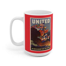 Load image into Gallery viewer, Axis and Allies United White Ceramic Mug