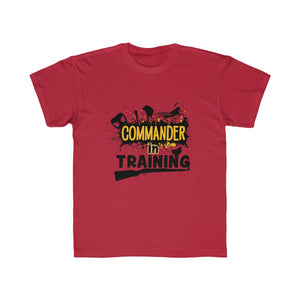 Axis and Allies Youth T-Shirt Commander in Training | Dean's Army Guys