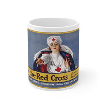 Load image into Gallery viewer, American Red Cross Vintage Poster Ceramic Mug