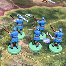 Load image into Gallery viewer, Chinese Infantry x5 OOB Sculpts Pastel Blue