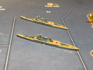 Japanese Mogami Heavy Cruiser x2