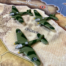 Load image into Gallery viewer, Axis and Allies Painted Pieces HBG German Strategic Bomber X3