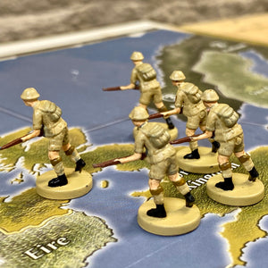 British Infantry x1 (Axis and Allies Out of Box Units)