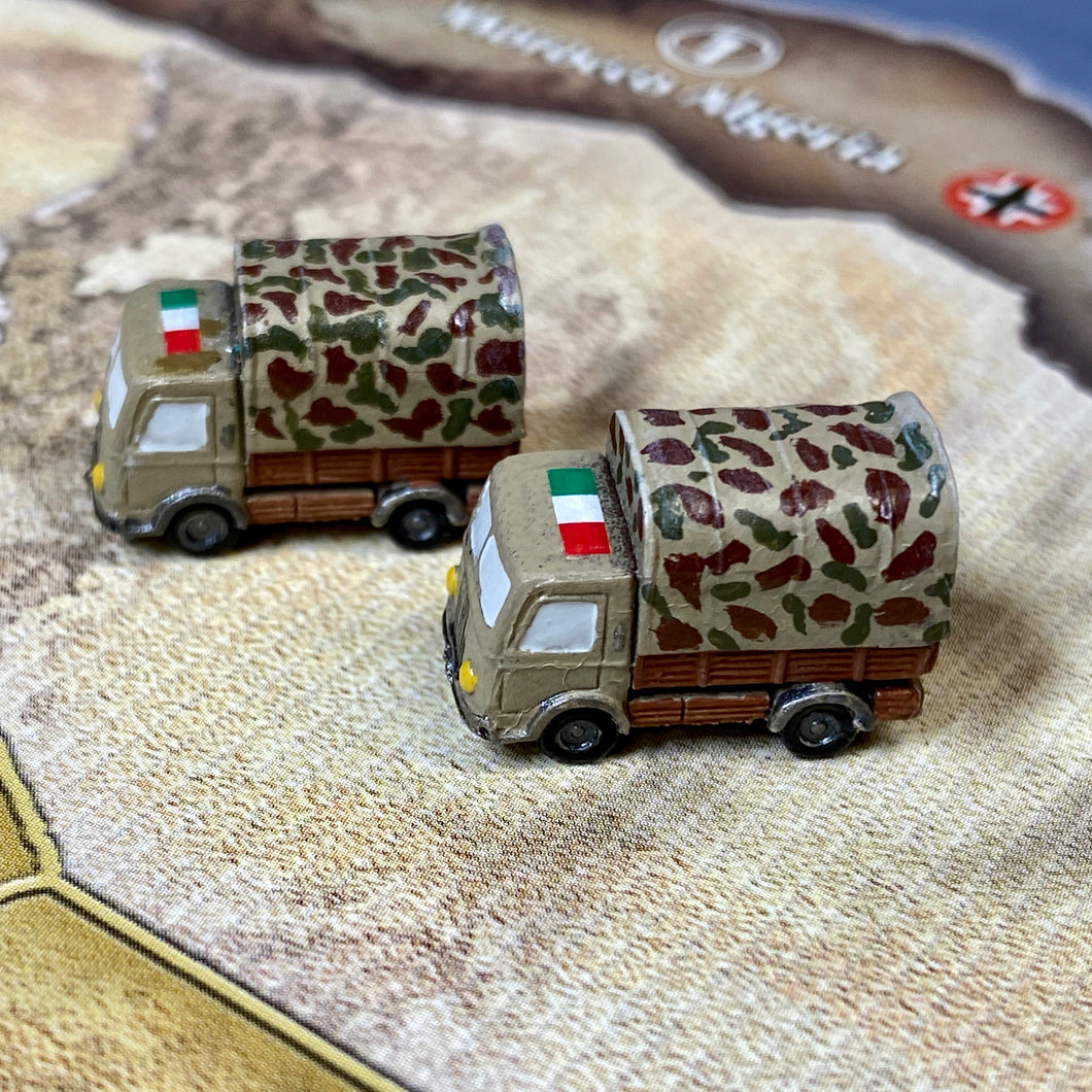 Italian Mechanized Infantry x2 (FMG Cargo Truck)
