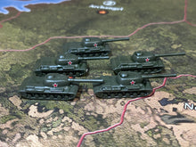 Load image into Gallery viewer, Russian IS-2 Tanks x5