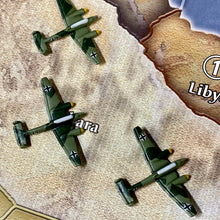 Load image into Gallery viewer, Axis and Allies Painted Pieces HBG German ME-110 Tactical Dive Bomber X3