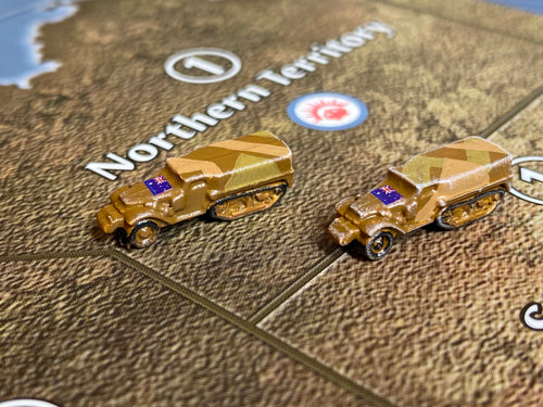 ANZAC (Australian) Mechanized Infantry- M3 Halftrack