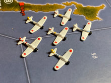 Load image into Gallery viewer, Japanese Zero Fighters x6