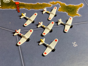 Japanese Zero Fighters x6