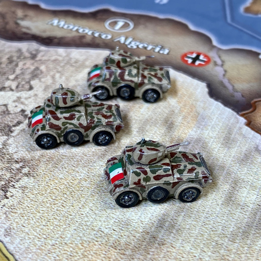 Italian Mechanized Infantry x3 (FMG Autoblinda 41 Armored Car)