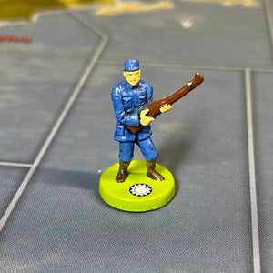 Chinese Infantry x5 OOB Sculpts Bright Blue
