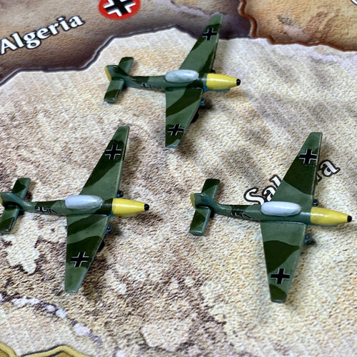 Axis and Allies Painted Pieces OOB German Stuka Tactical Dive Bomber X3