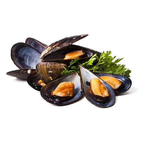 Black Half Shell Mussels 1kg/box