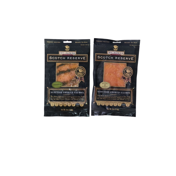 Frozen Smoked Salmon (2pkt)