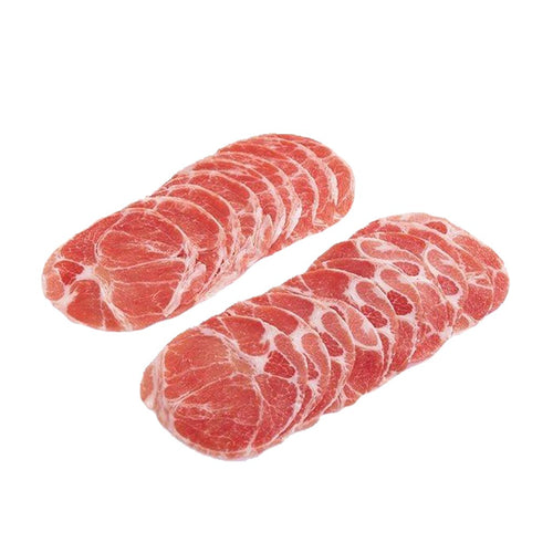 Iberico Pork Collar (Sliced) 2mm 500gm/pkt
