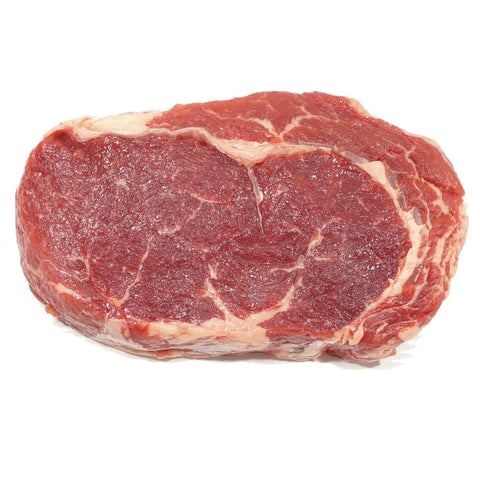 Frozen Black Angus Beef Ribeye Grain Fed Portion 200gm