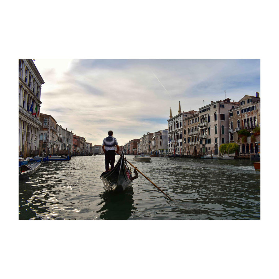 Grand Canal in Venice by Gondola