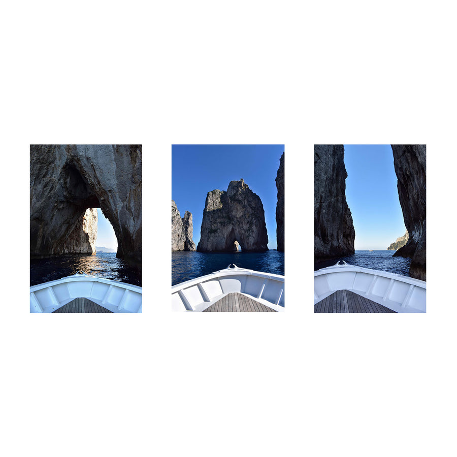 Blue as the Sea - Capri's Faraglioni Rock Formations Series