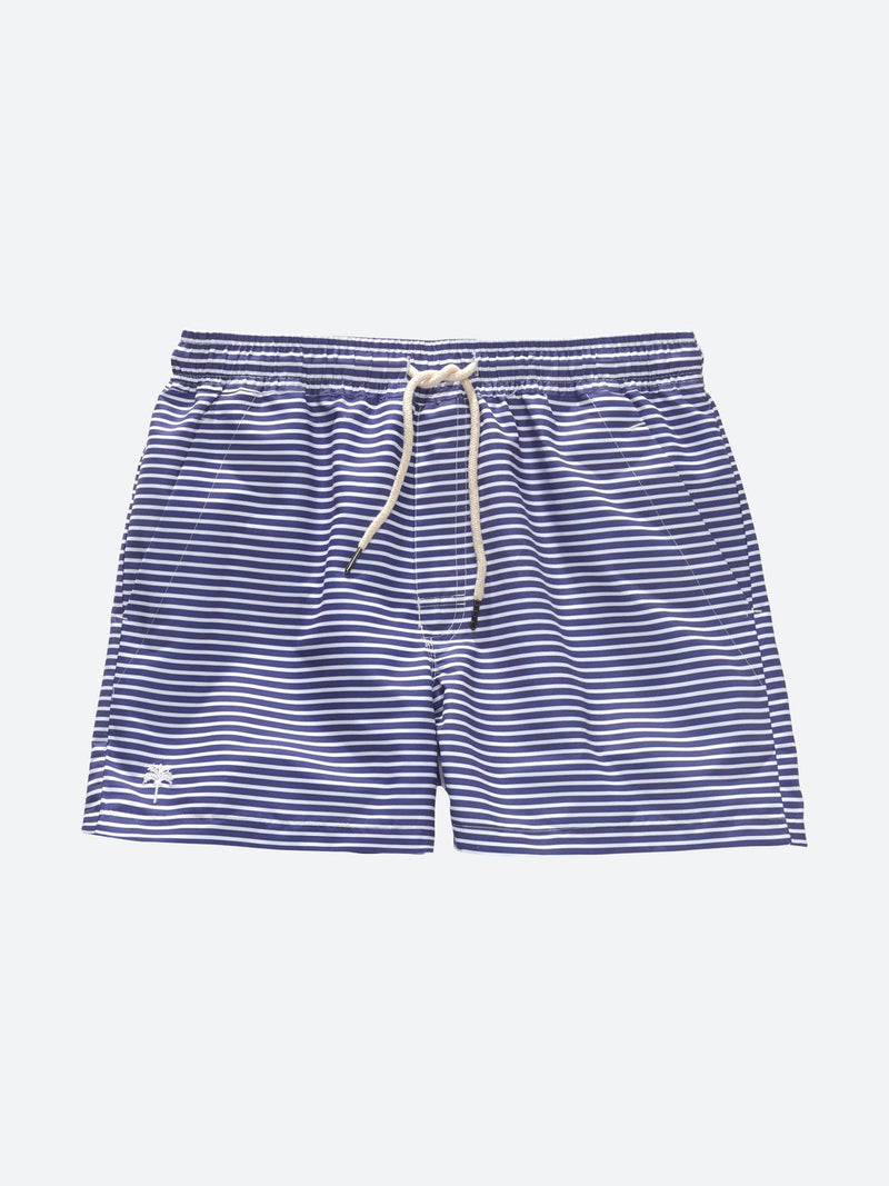 Busy Blue Swim Trunk
