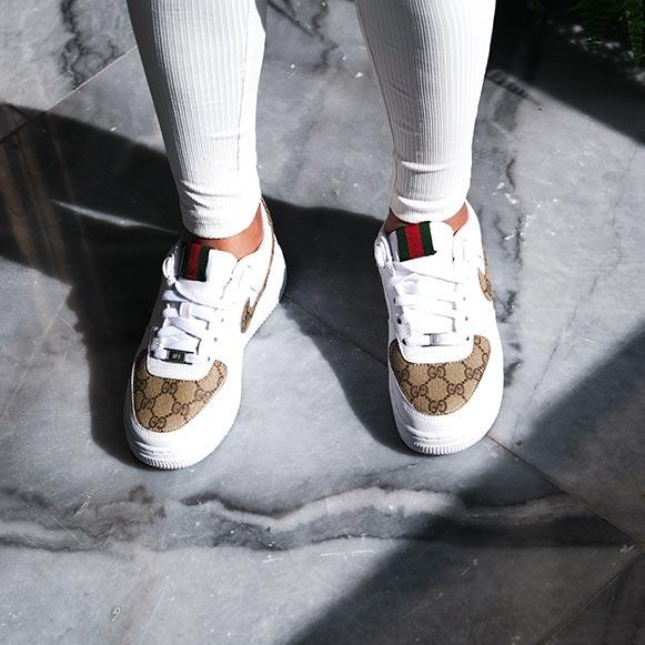 Nike Air Force 1 x Gucci Sneakers