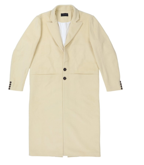 Angora Cashmere Car Coat