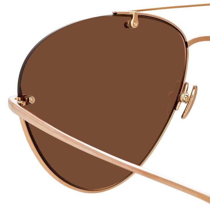 Pine Aviator Sunglasses