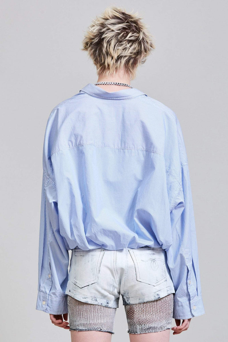 Gathered Hem Shirt